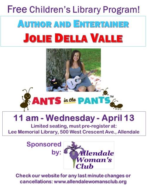 Spring Break Jolie Della Valle 4-13-16