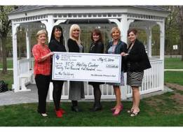 YCS Holly Center Donation Check
