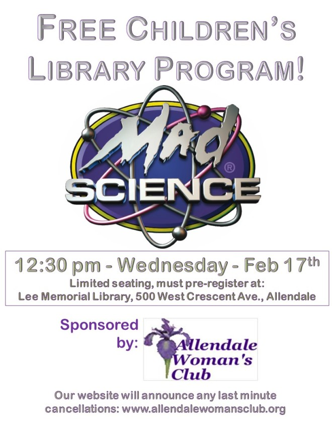 Winter Break Mad Science 2-17-16