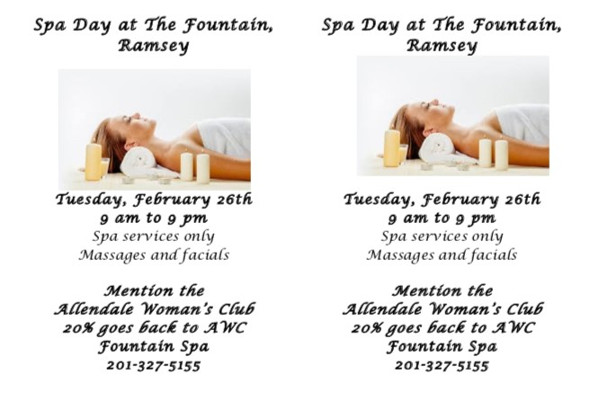 AWC Spa Day 2019